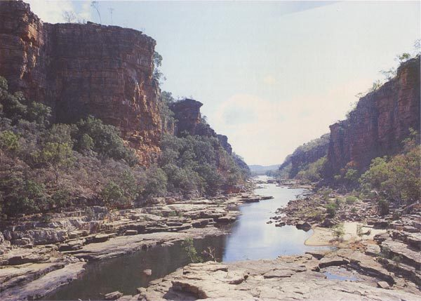 Upper reaches of the Mann River